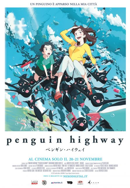 PENGUIN HIGHWAY - NEXO ANIME 2018